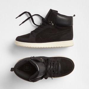 NWT GAP Kids Classic Hi Top Sneakers Size 12